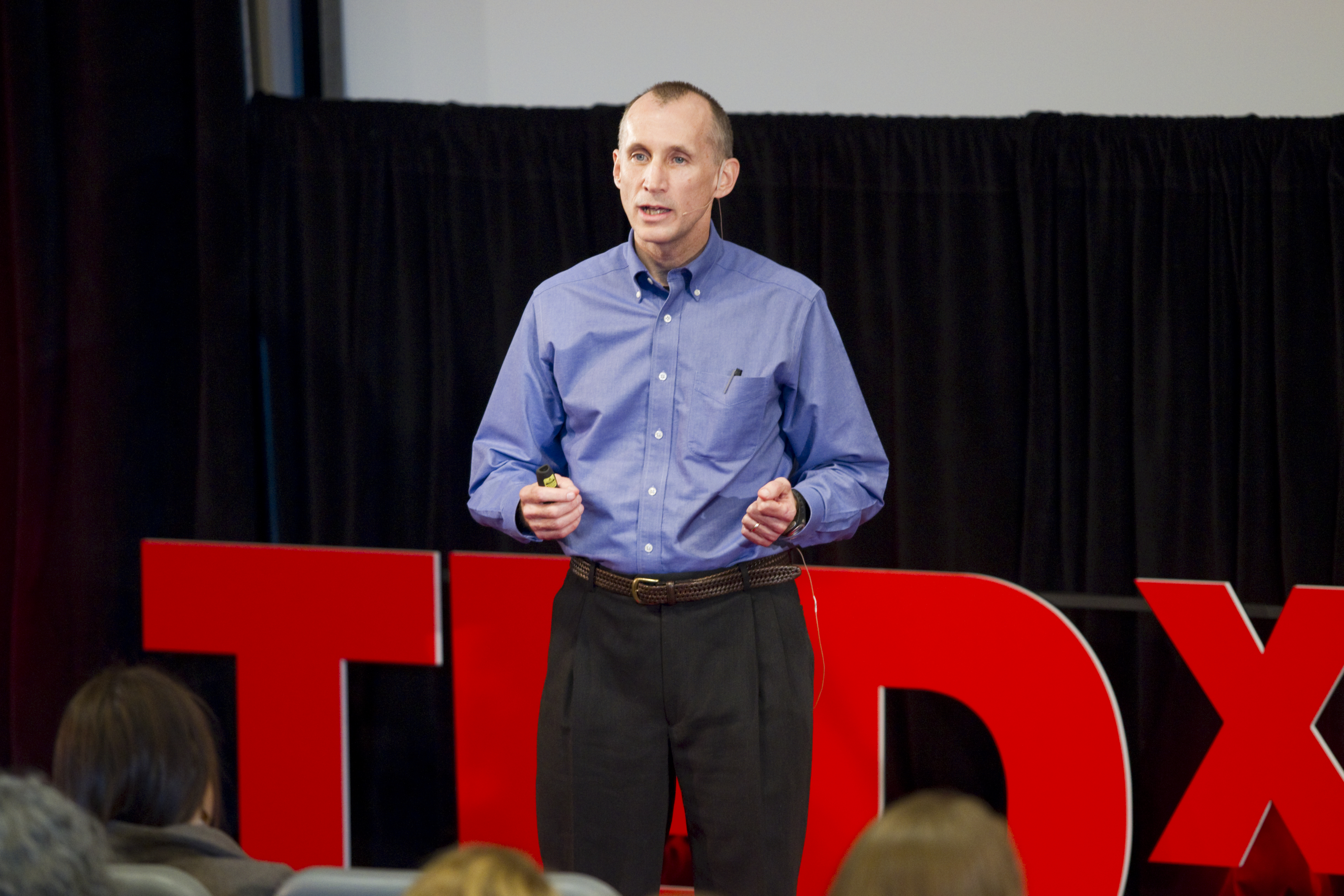 Whalen gave a TEDxUGA presentation on campus in 2013.