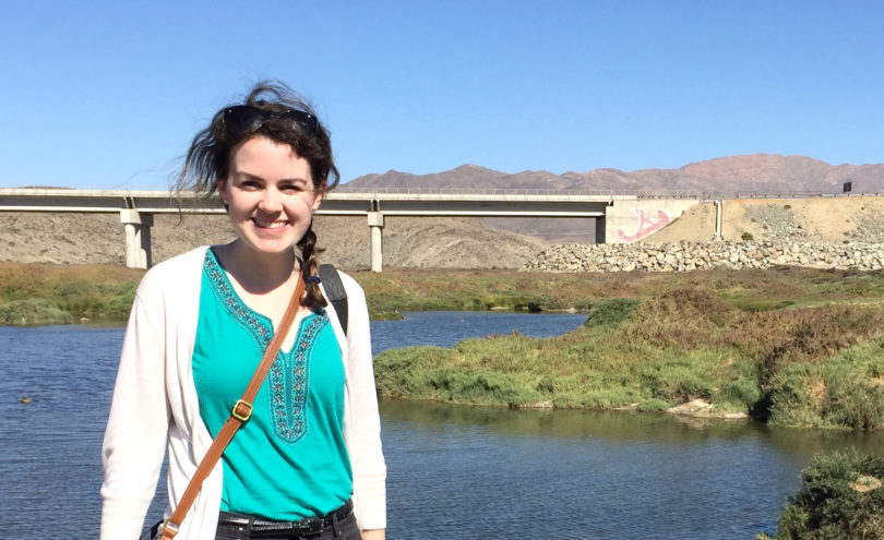 Maggie Harney will be assisting English teachers in Spain on her Fulbright grant.