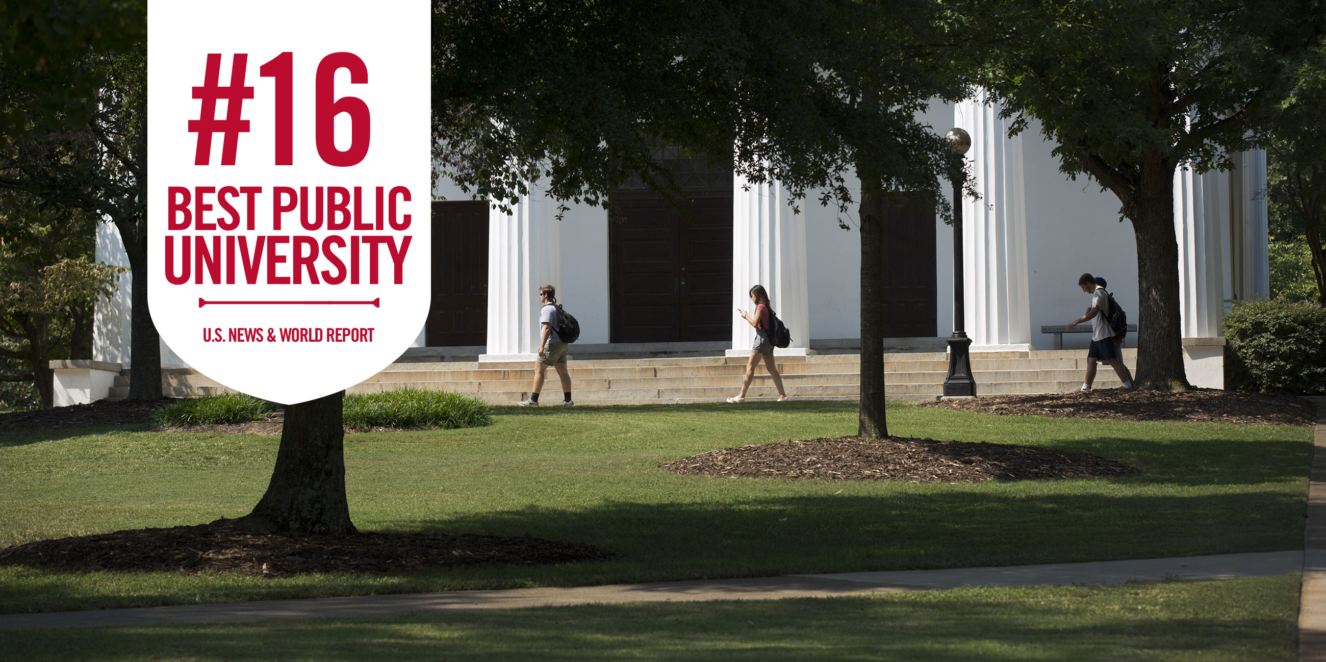 UGA jumps to No  16 in U S  News & World Report rankings