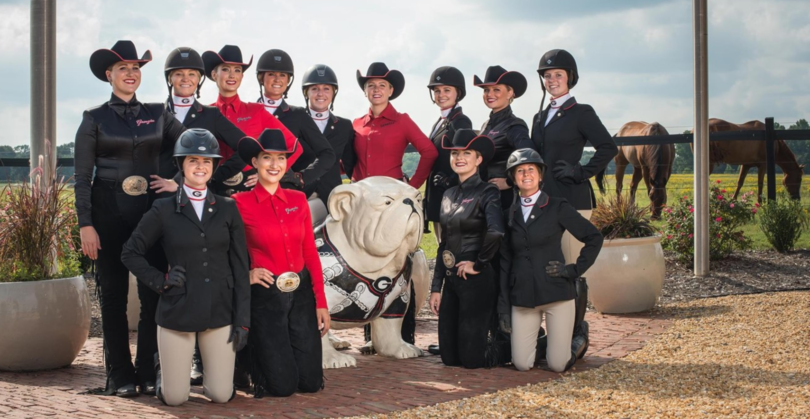 """Head coach Meghan Boenig is """"impressed with the talent and the work ethic shown"""" in this year's equestrian team."""