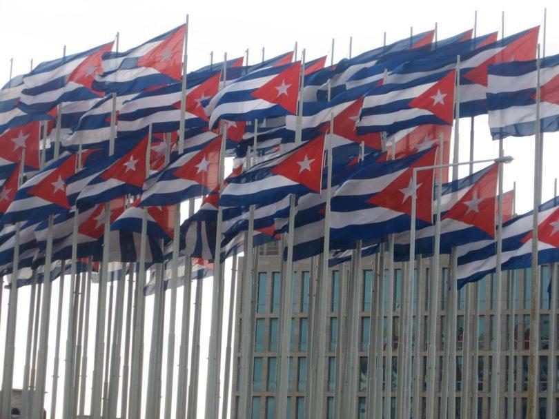 Cuban flags