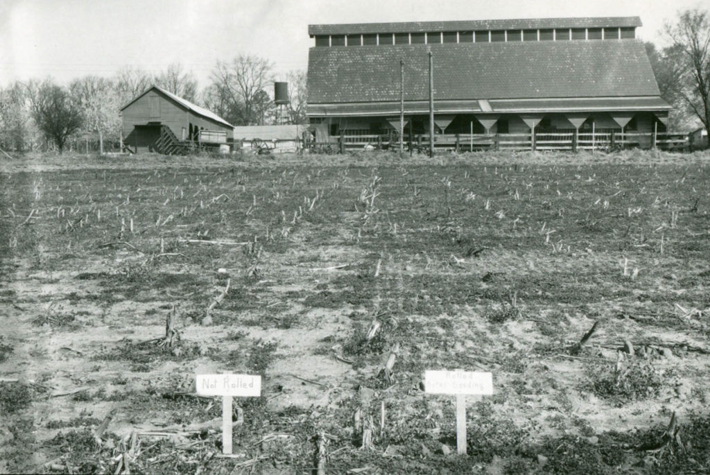 The Mule Barn was built in 1920 to demonstrate a new construction technique to the state, and it is the second-oldest building on the UGA Griffin campus.