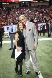 The Home Depot co-founder Arthur M. Blank and wife Angela. A University of Georgia scholarship fund is being named for the couple and will support educational opportunities for students residing in Atlanta's Westside communities.