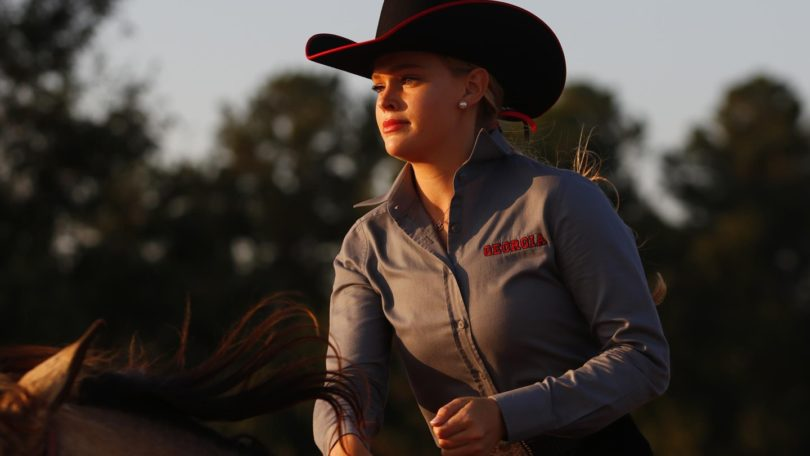 The Georgia equestrian team is now ranked No. 1 in the nation.