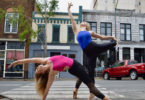 Lindsay Giedl, left, and Gracie Bailey each will present their creative progress as dancers, performers and choreographers during the department of dance's 2017 Young Choreographers Series Senior Exit Dance and Emerging Choreographers Concert.