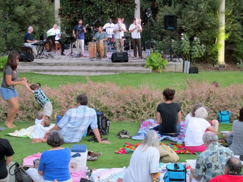 Sunflower Concert Series returns to State Botanical Garden - UGA Today