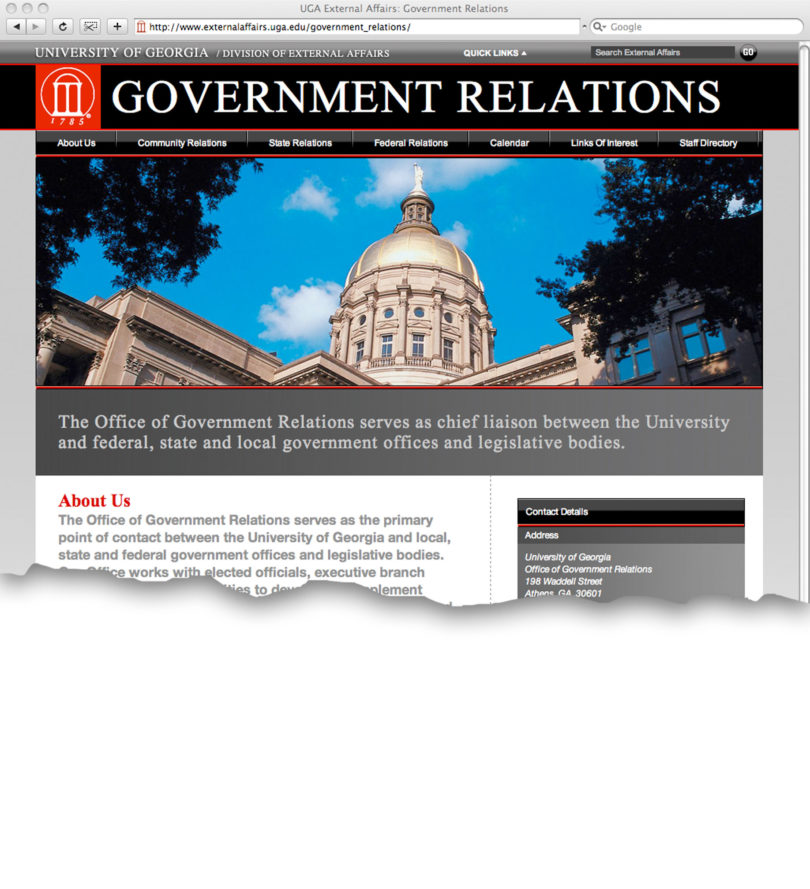 Site serves UGA community, state - UGA Today