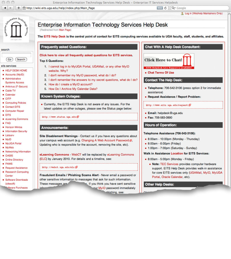 Uga Eits Help Desk Computer Help Is One Click Away Uga Today . Uga Eits Help  Desk ...