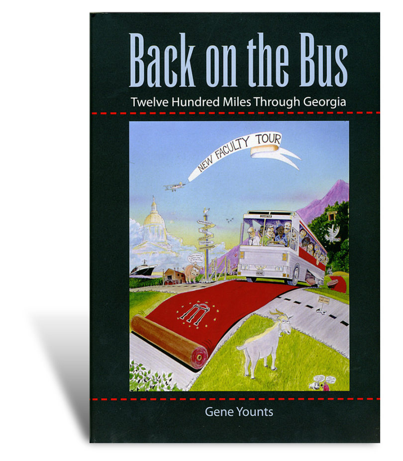 Former vice president takes a look back at UGA's new faculty tour of Georgia