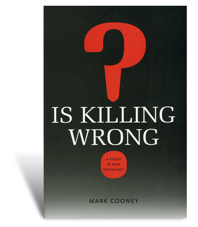 Book examines killing in sociology study