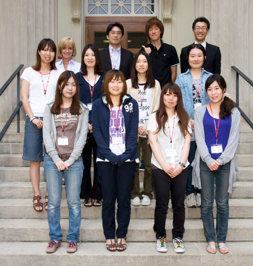 Japanese students visit College of Vet Med-H.group