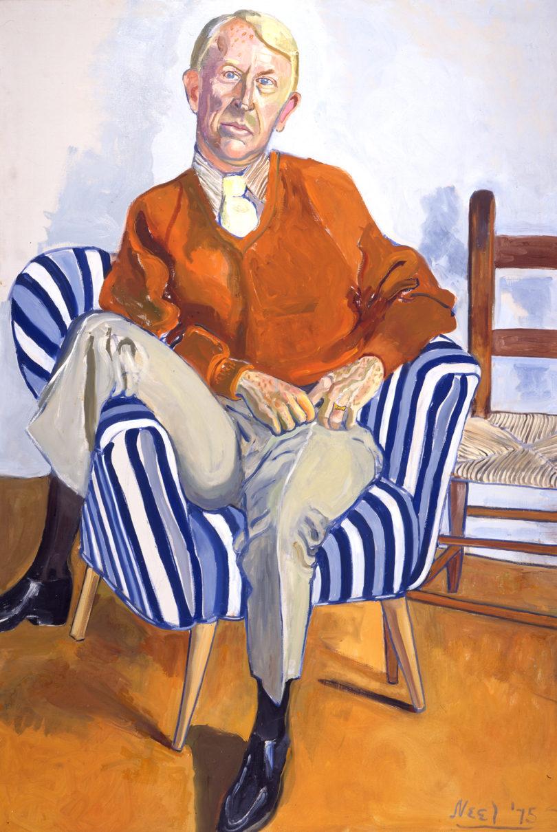 Shapes exhibition Portrait of William D. Paul GMOA-h