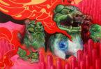 """Allan Innman """"Hell Hounds"""" MFA Exit Show 2015-h.art"""