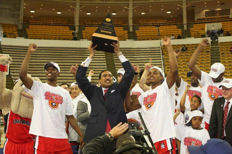 Mens basketball SEC championship 2008-H.Group