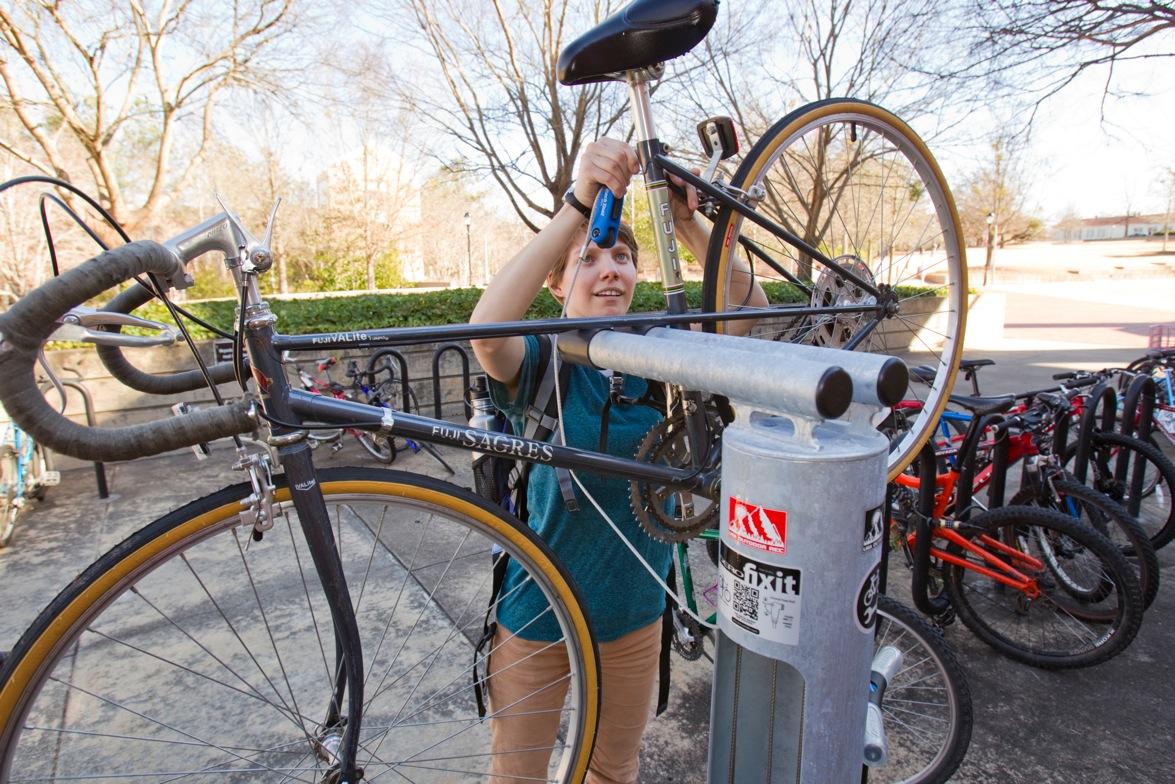 University Of Georgia Installs Bicycle Repair Stations Uga Today