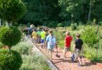 Botanical garden children on a tour-h.env