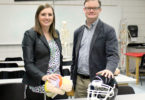 Concussion research Julianne Schmidt and Welch Suggs-h
