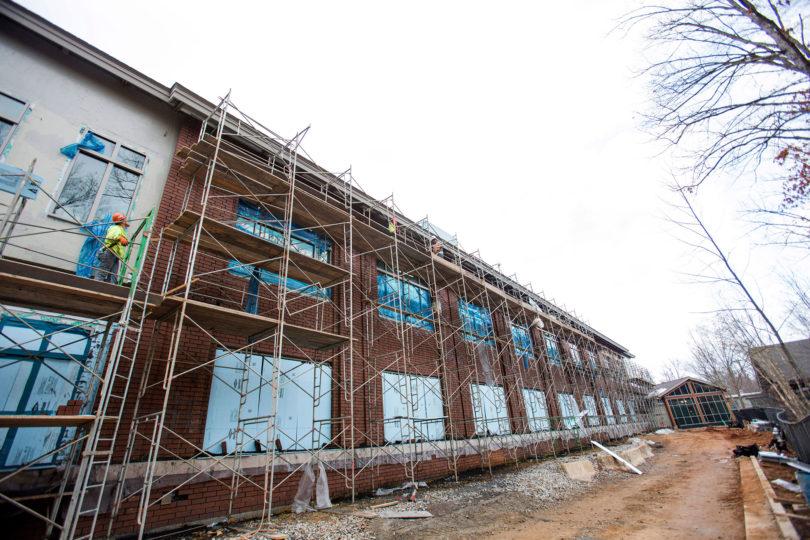 Center for Molecular Medicine construction-h.env