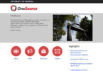 Site serves as OneSource Project resource