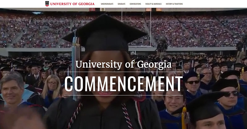 Commencement website offers new features