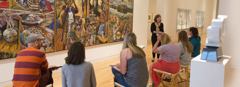Curator takes teaching beyond the classroom