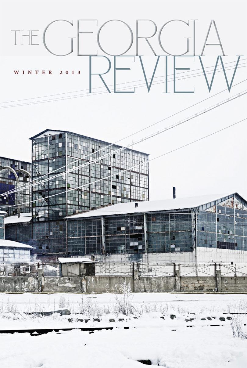 Georgia Review cover winter 2014-v