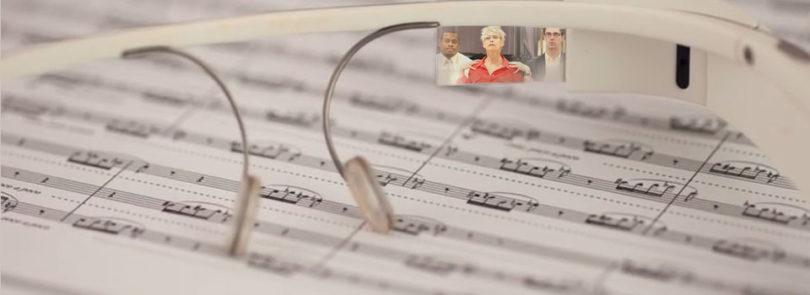 Professor on cutting edge with Google Glass