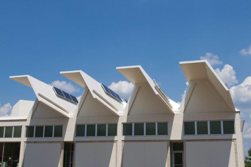 Jackson Street Building-h. solar collectors