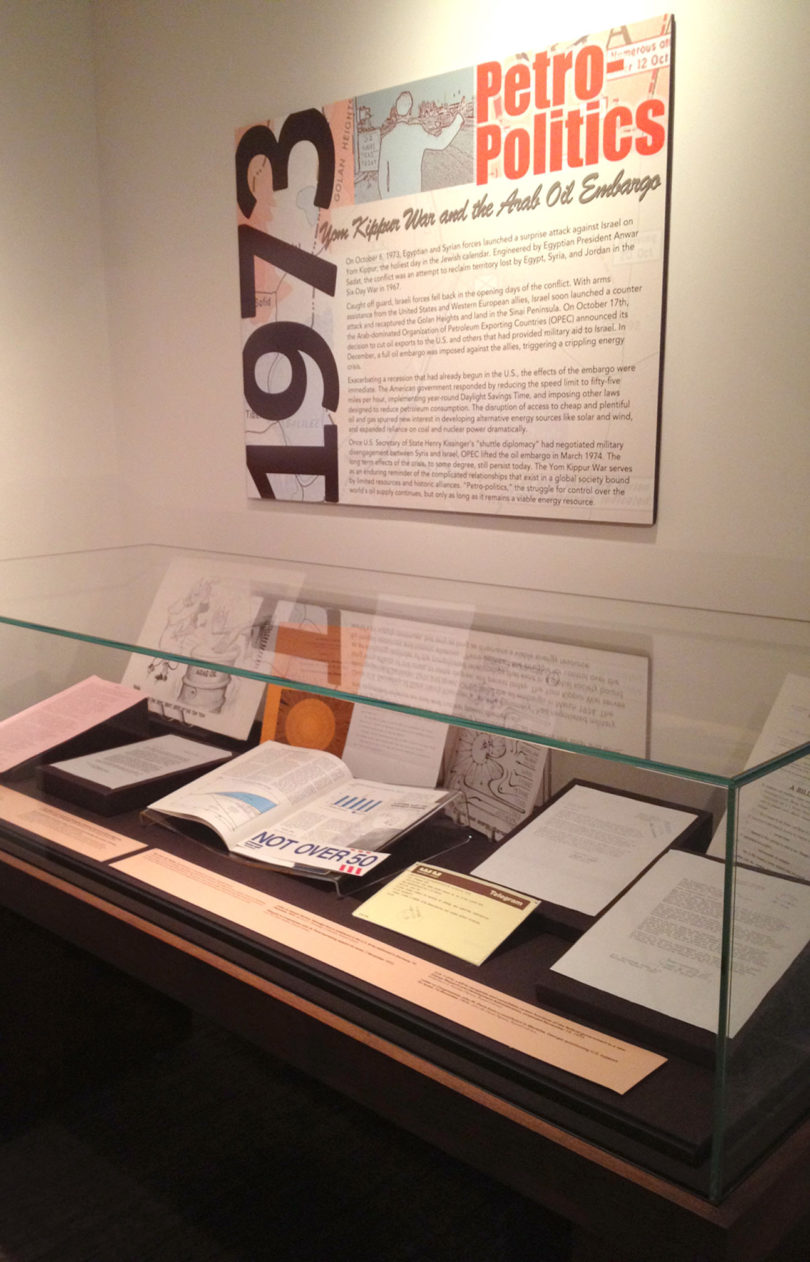 Russell Library 1973 exhibition-v