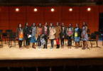 Kenyan students visit Moi Girls stage-h