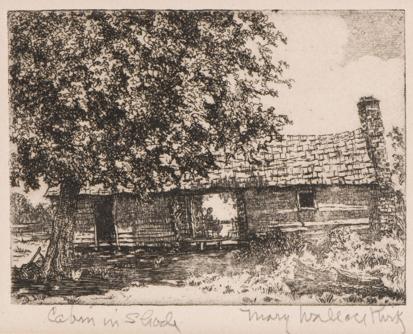 Mary Wallace Kirk Cabin in the Shade-h