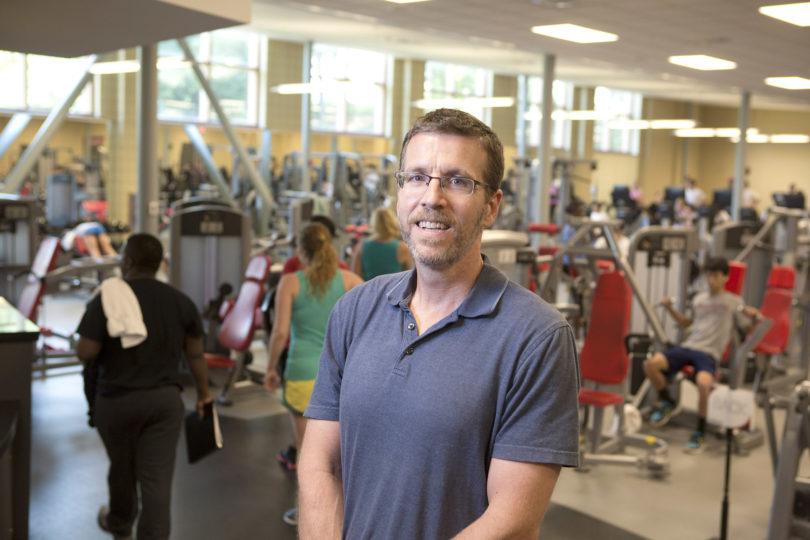 Michael Schmidt portrait weight room-h