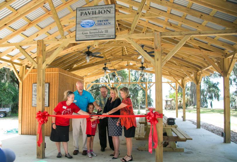 Skidaway Island pavilion