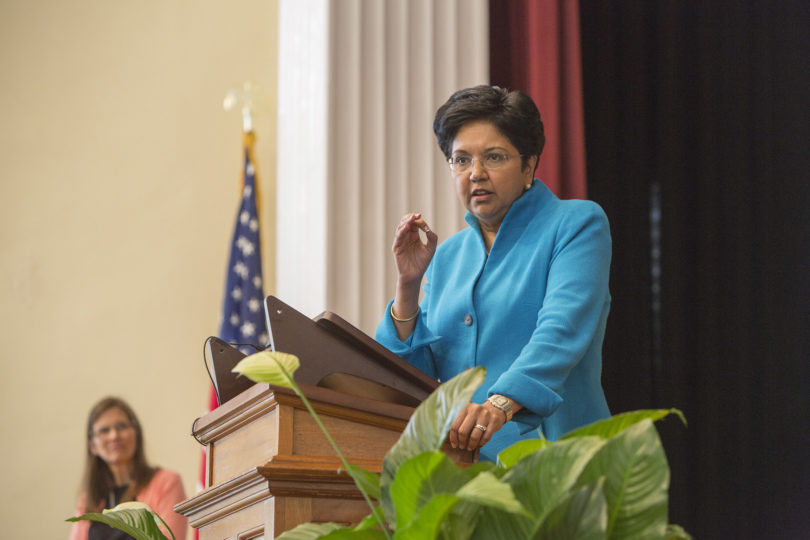 Indra Nooyi PepsiCo CEO lecture-h