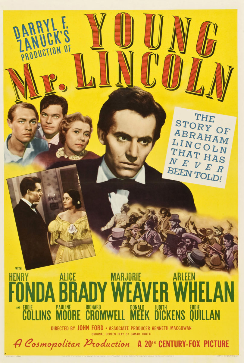 Picturing America Young Mr. Lincoln poster-v