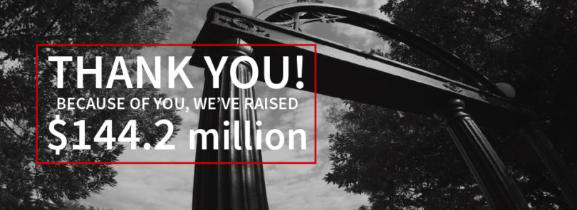 UGA breaks another record for fundraising