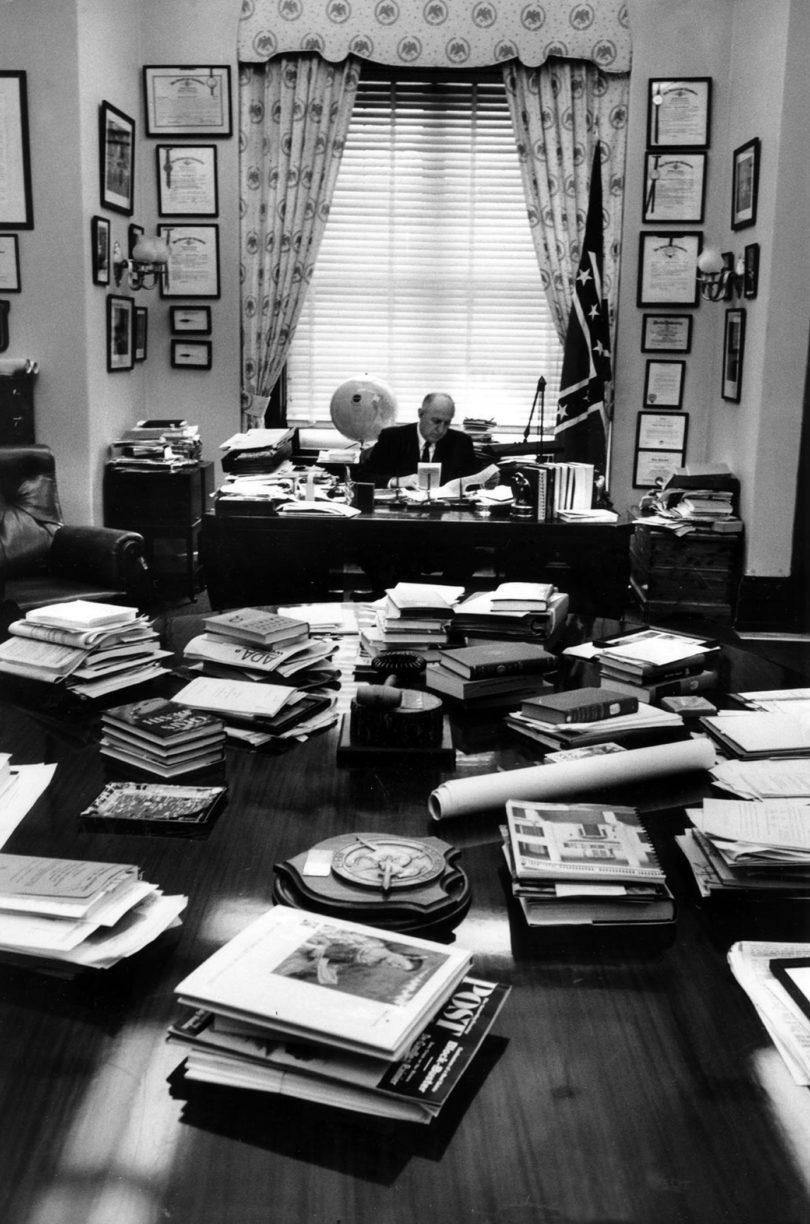 Richard B. Russell office bw-v
