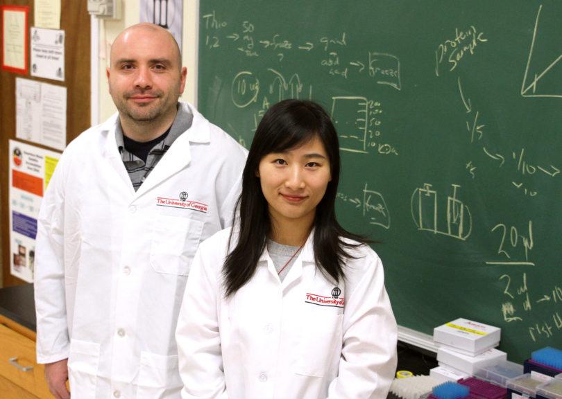 Rob Pazdro and Yang Zhou genetics aging-h.photo