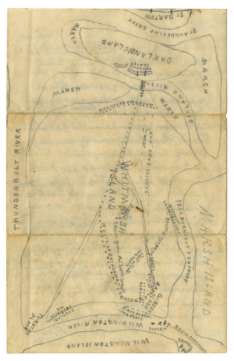 Civil War digital exhibit harris letters