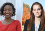 UGA students Gaby Pierre and Elizabeth Hardister have been awarded Schwarzman Scholarships.
