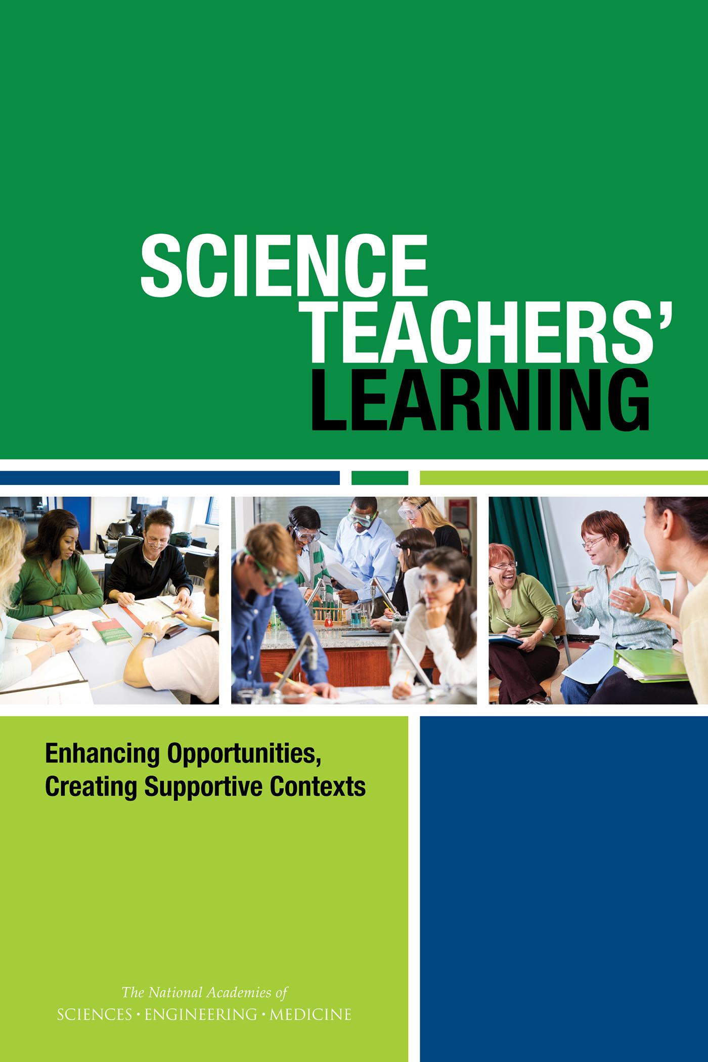Science_Teachers_Learning_Cover-_hi_res Teacher Newsletter Template For Elementary on