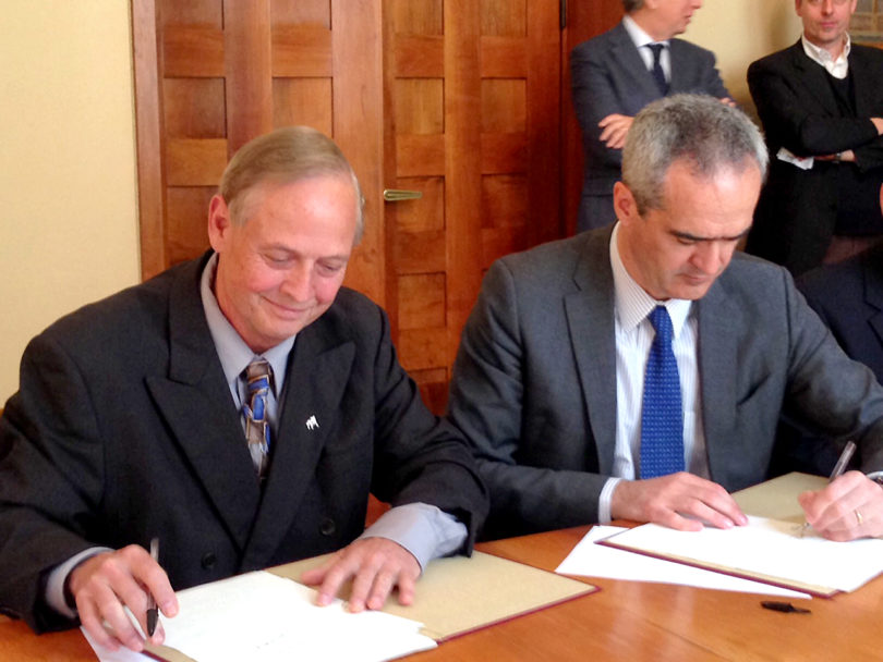 UGA-Padova dual degree sustainable ag 2016 signing-h.photo