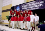 Women's Swimming and Diving Team 2005-h.group