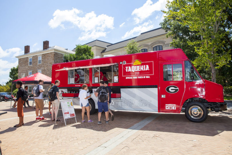 mobile menu uga s first food truck taqueria 1785 rolls out dishes uga today. Black Bedroom Furniture Sets. Home Design Ideas