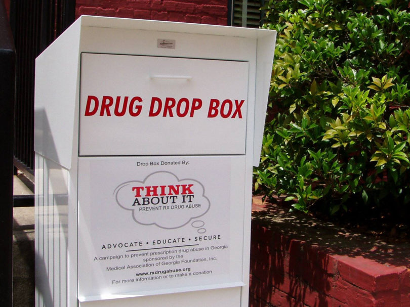UGA PD Drug Drop box-h.photo