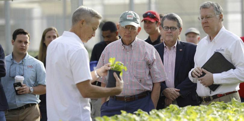 Vital partnership with farmers
