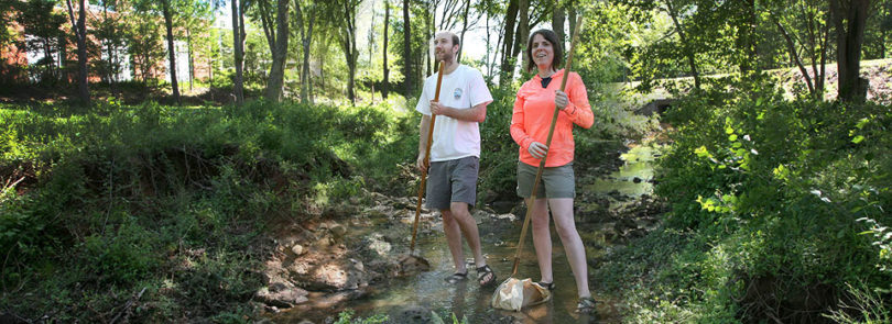 Watershed UGA teaches students about campus stream health