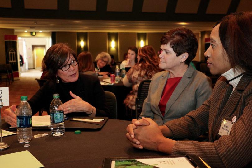 Women in Ag summit USDA Krysta Harden Ronni Davis-Frank-h.photo