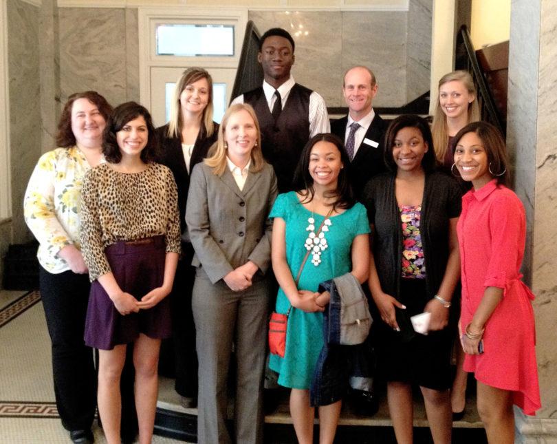Athens Peer Court 2013 Liberty Bell Award-group