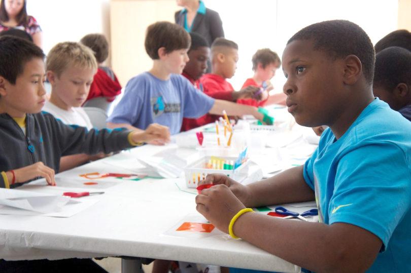 GMOA fifth grade tours classroom-h